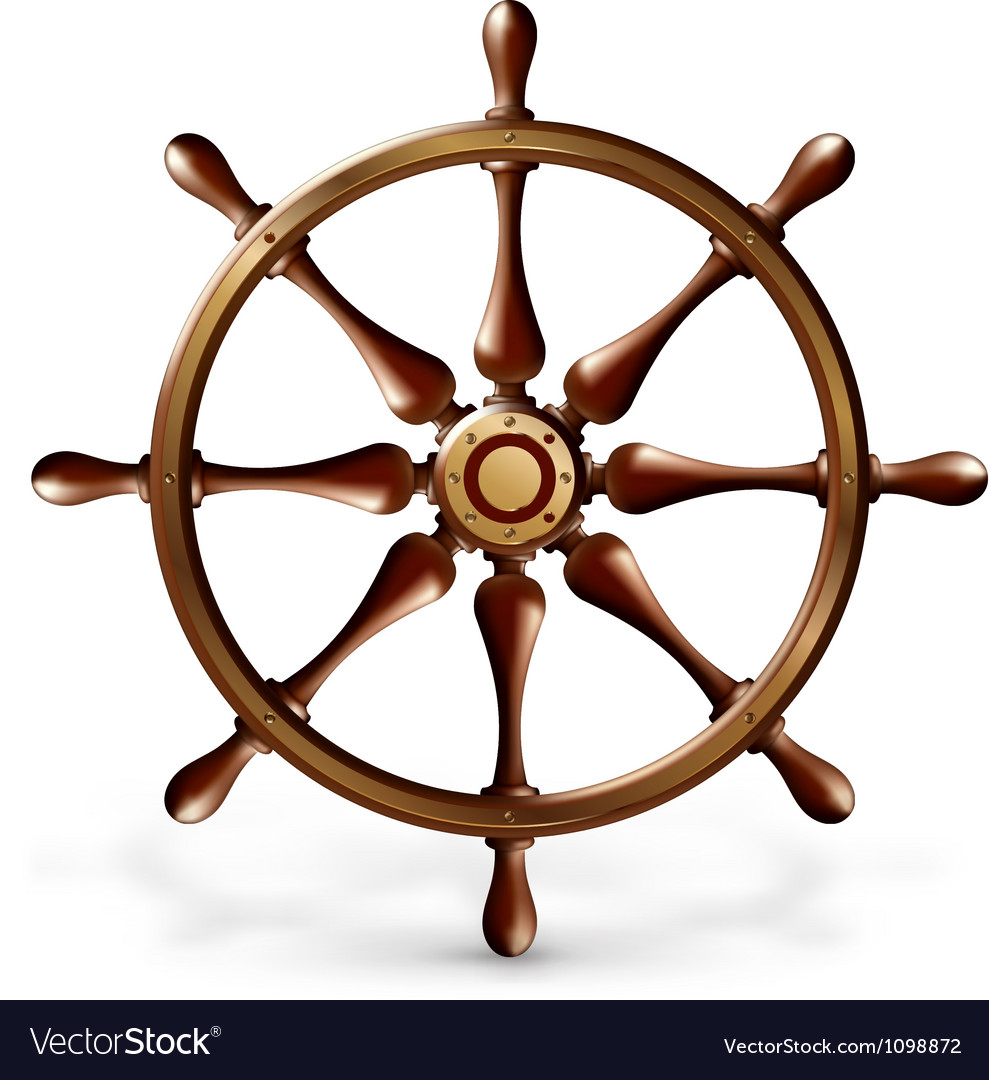 Ships wheel vector | Price: 1 Credit (USD $1)