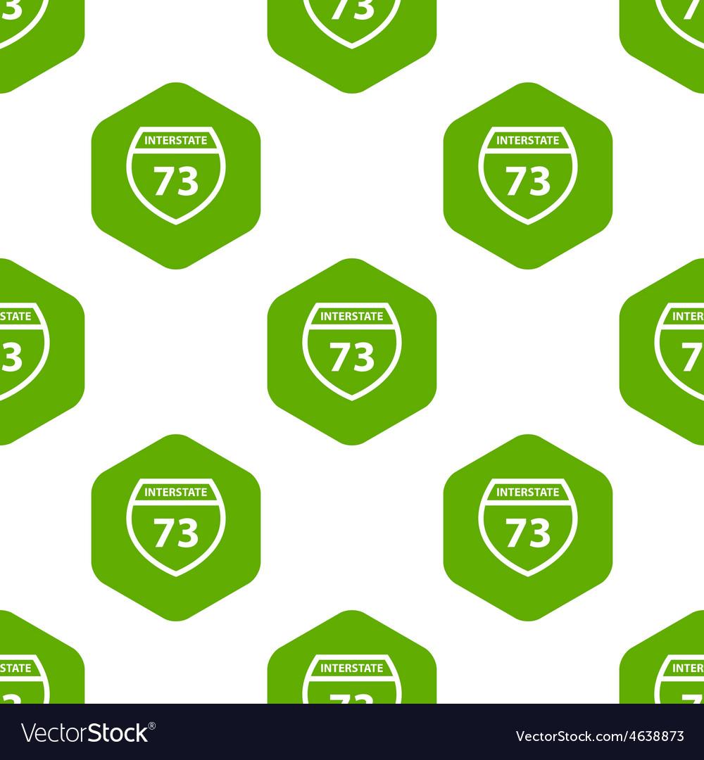 Interstate 73 pattern vector | Price: 1 Credit (USD $1)