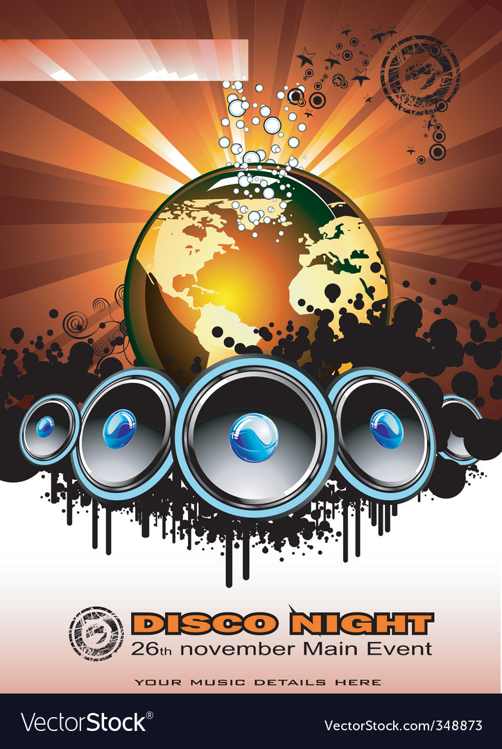 Music event vector | Price: 3 Credit (USD $3)