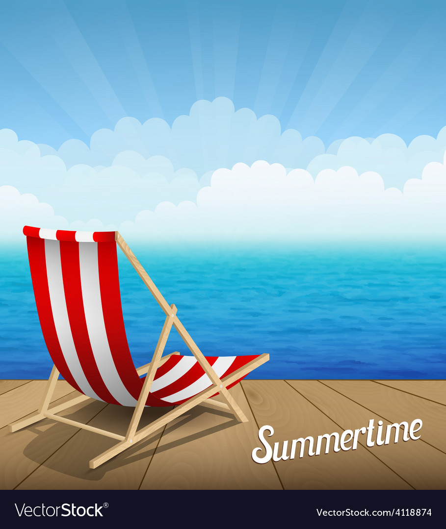 Summertime rest vector | Price: 3 Credit (USD $3)