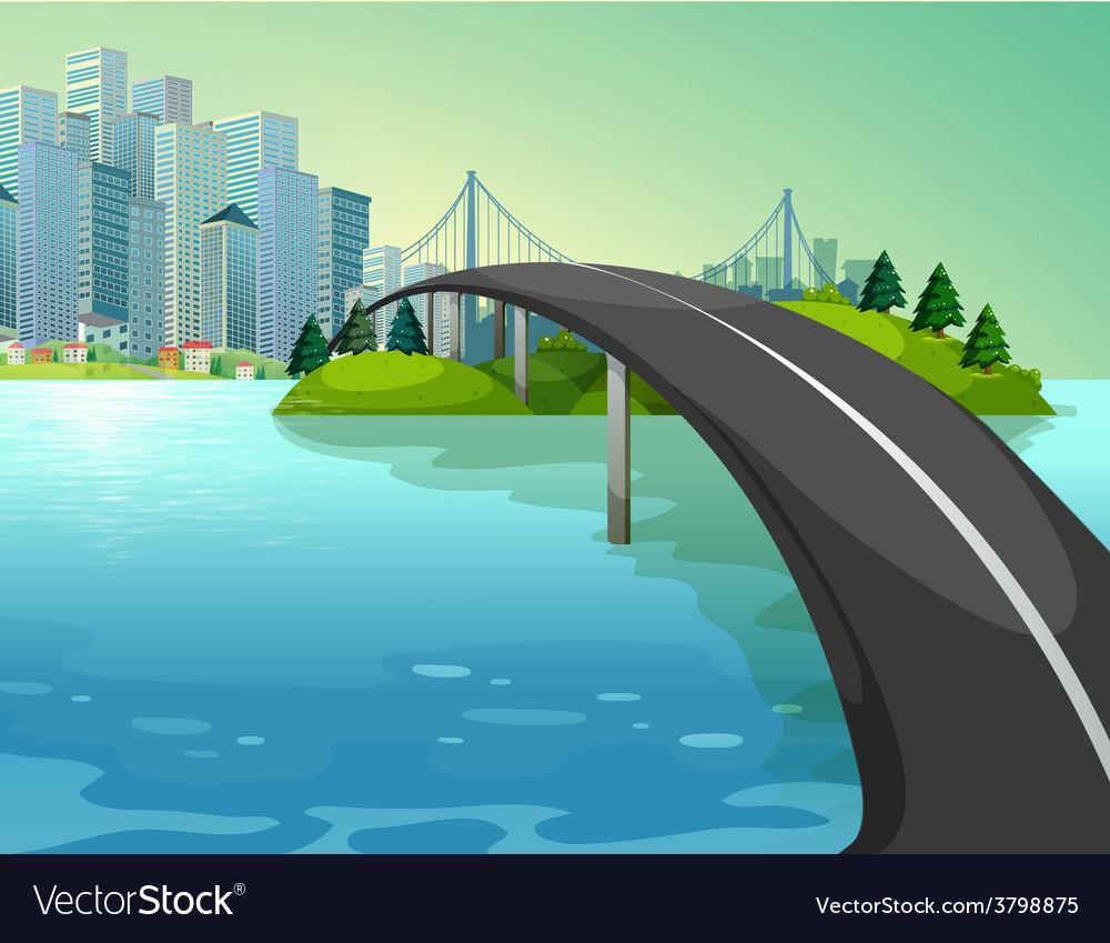 A bridge vector | Price: 1 Credit (USD $1)