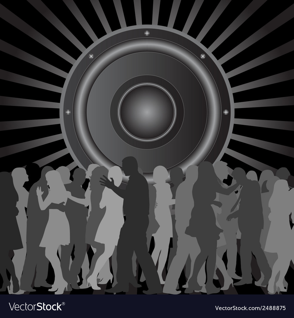 Discotheque vector | Price: 1 Credit (USD $1)