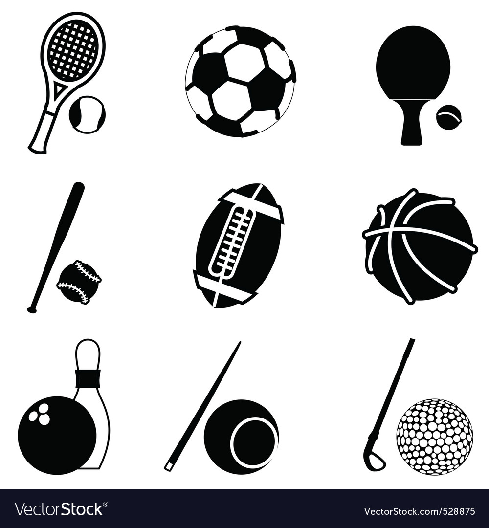 Sport items vector | Price: 1 Credit (USD $1)