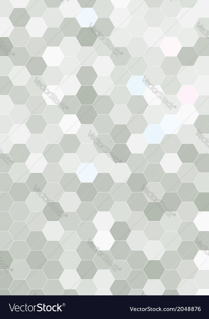 Hexagon halftone background template vector | Price: 1 Credit (USD $1)