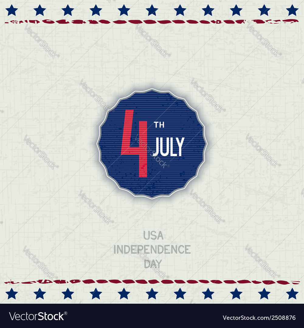 Usa independence day vector | Price: 1 Credit (USD $1)
