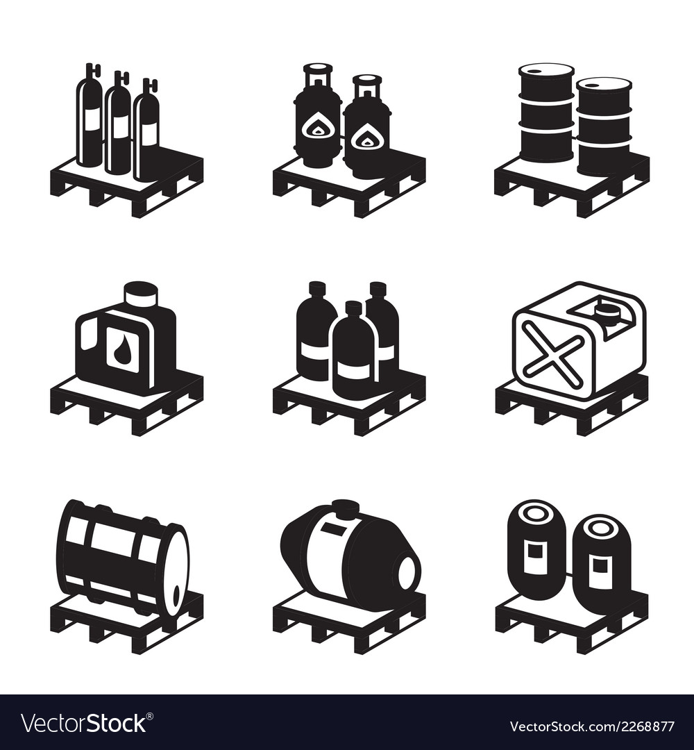Oil gas and chemical products vector | Price: 1 Credit (USD $1)