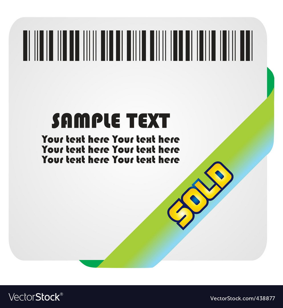 Sold vector | Price: 1 Credit (USD $1)