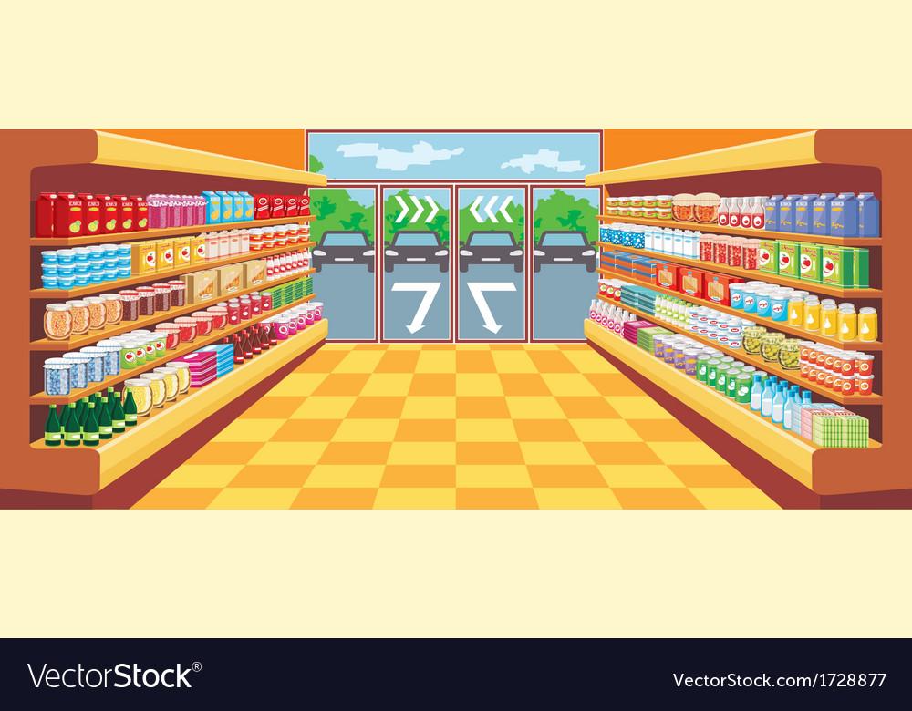 Supermarket vector   Price: 3 Credit (USD $3)