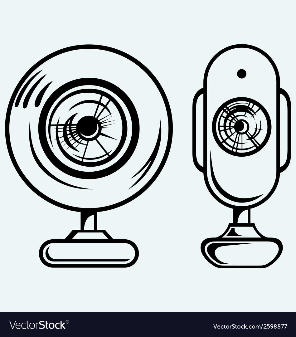 Webcam vector   Price: 1 Credit (USD $1)