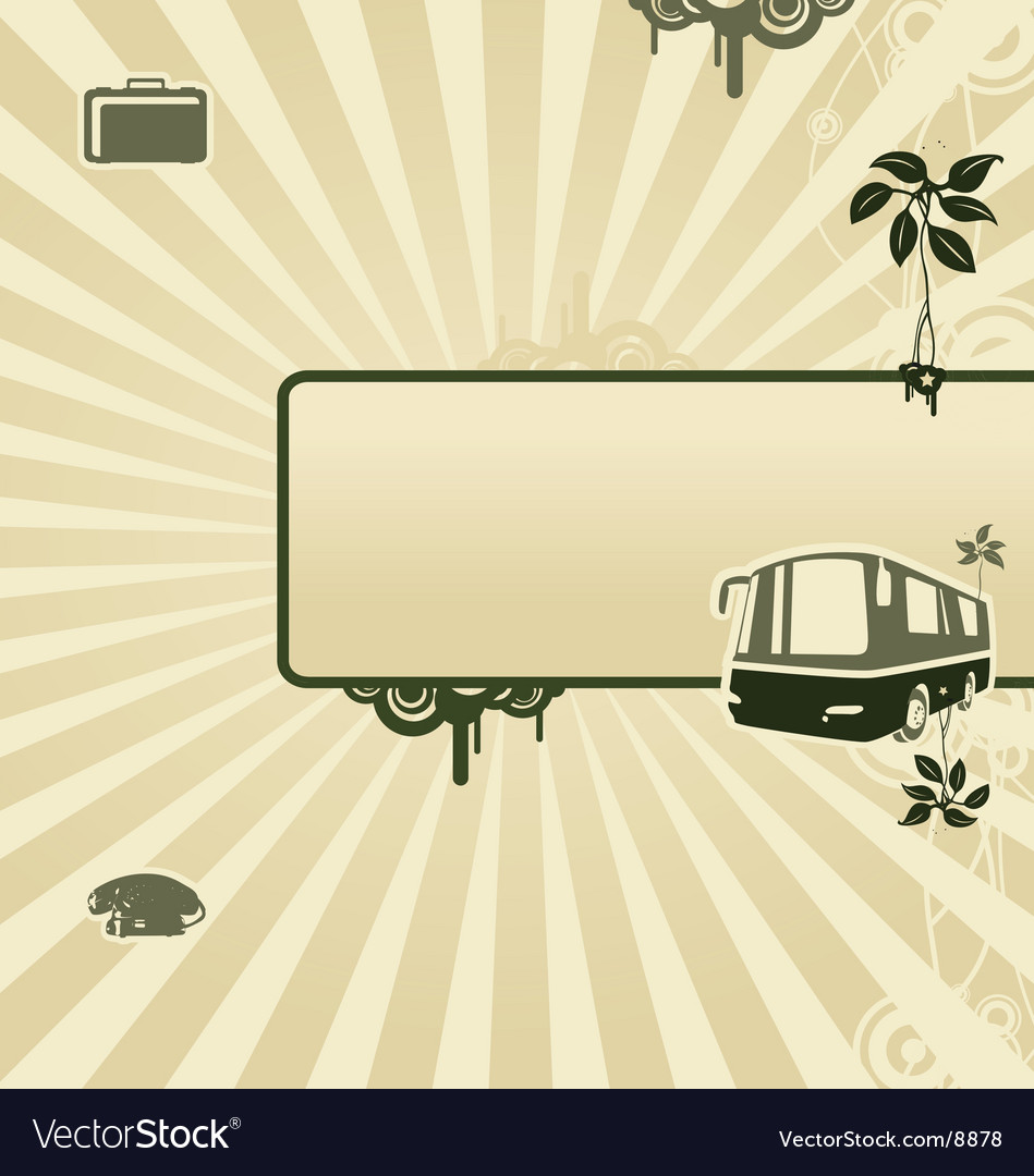 Von bus vector | Price: 1 Credit (USD $1)