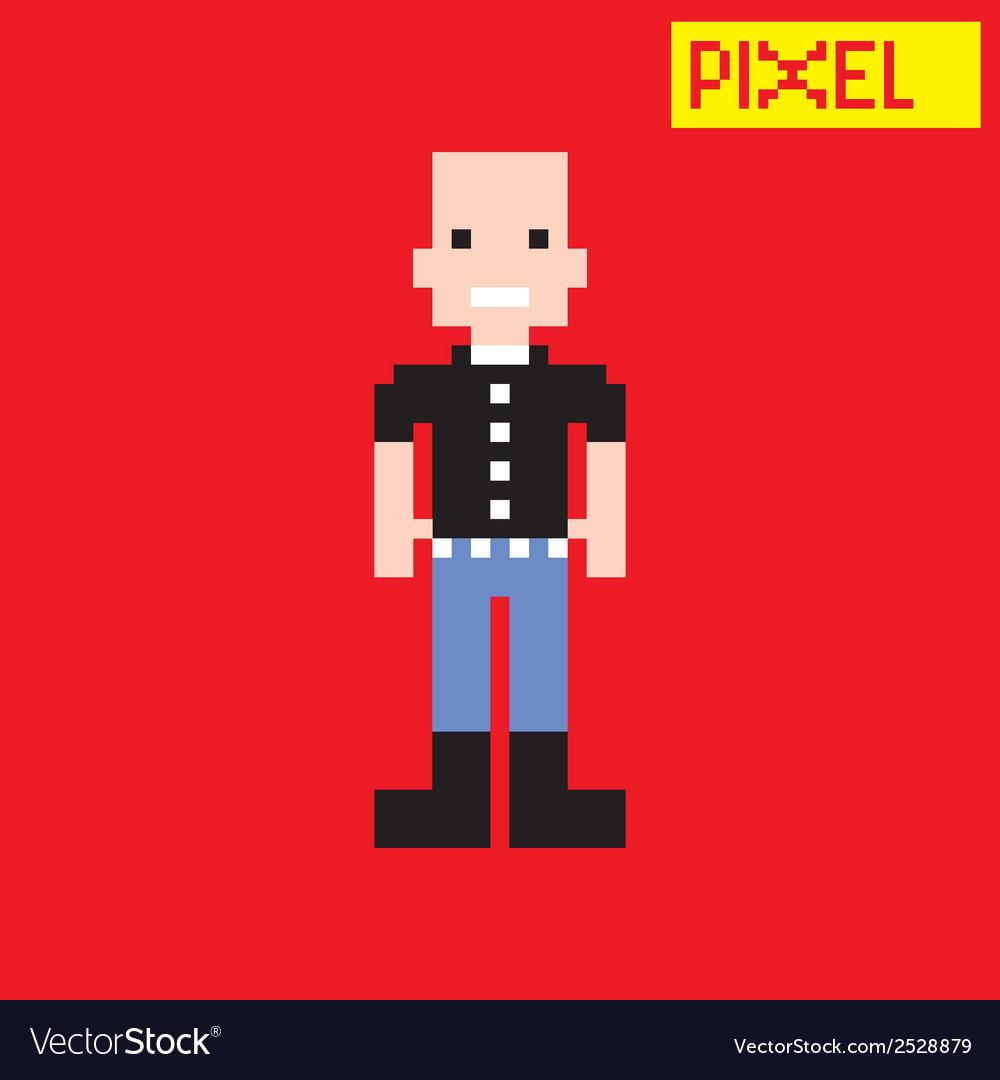 Cartoon person vector   Price: 1 Credit (USD $1)