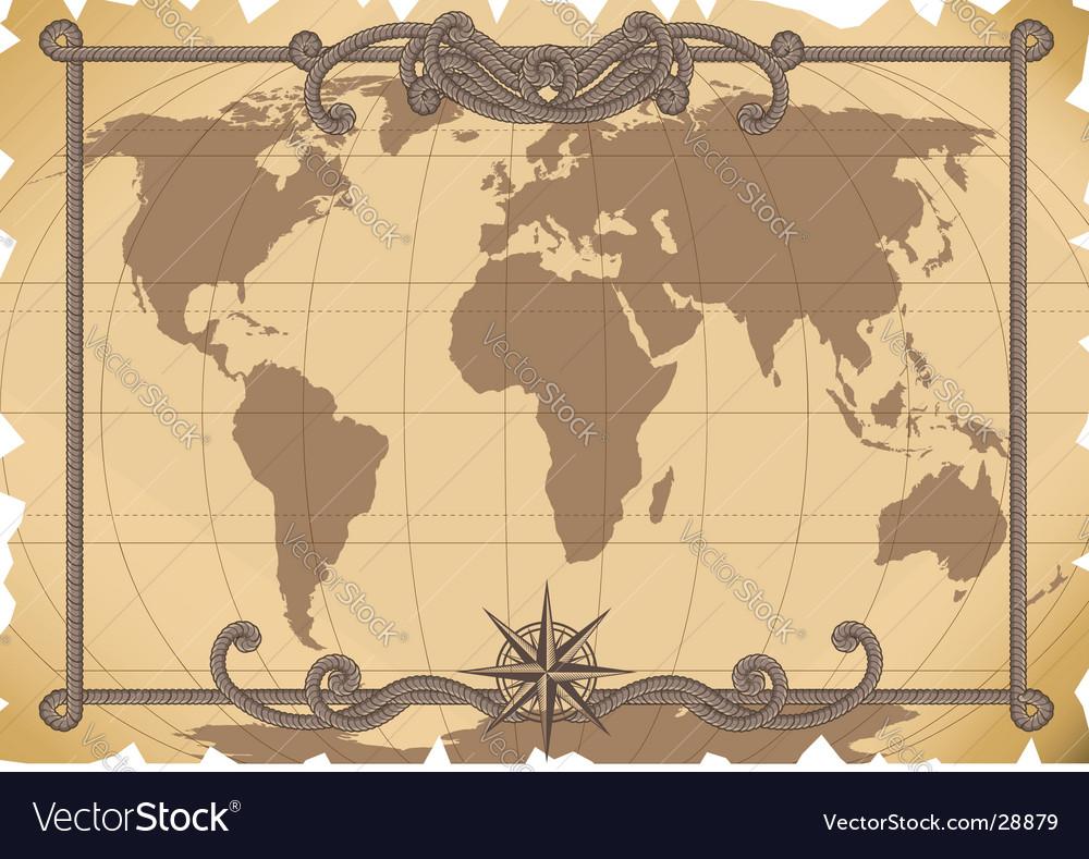 Map vector