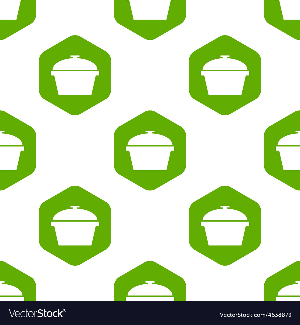 Pan with lid pattern vector   Price: 1 Credit (USD $1)