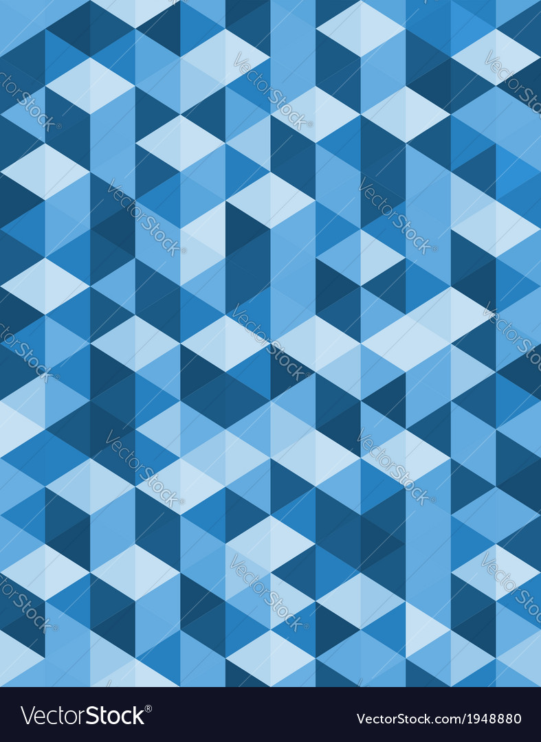 Geometric background design of triangles vector | Price: 1 Credit (USD $1)
