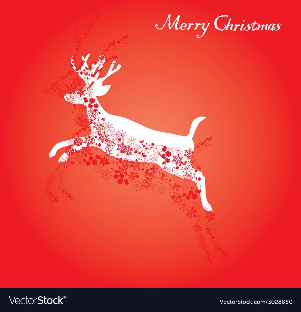 Red deer vector | Price: 1 Credit (USD $1)