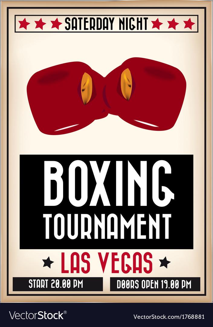 Boxingposter vector   Price: 1 Credit (USD $1)