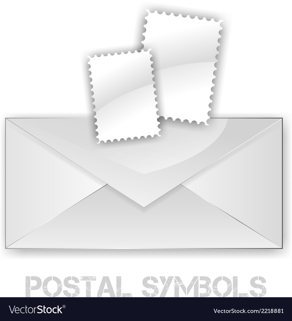 Postage symbols vector | Price: 1 Credit (USD $1)