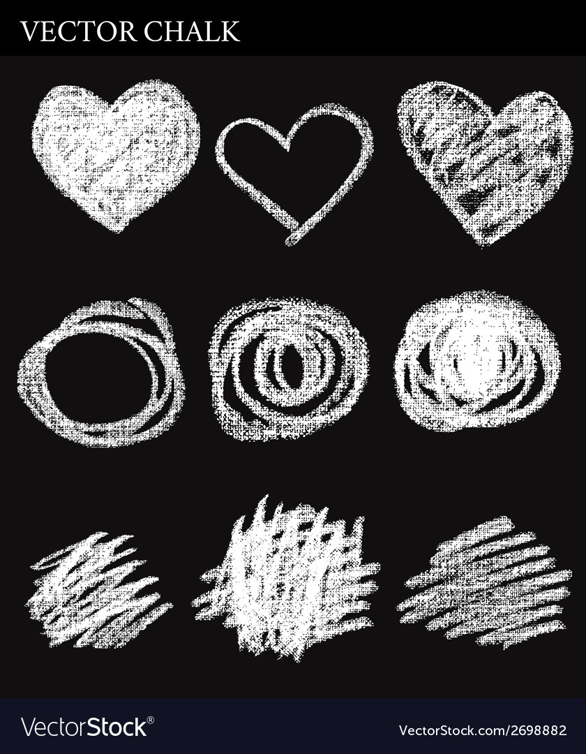 Chalk circles vector   Price: 1 Credit (USD $1)