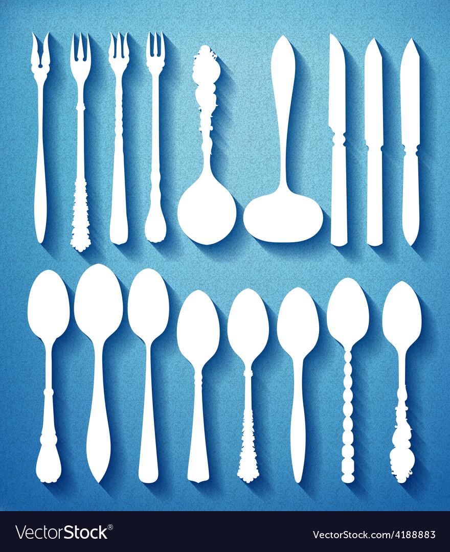 0000 cutlery vector | Price: 1 Credit (USD $1)