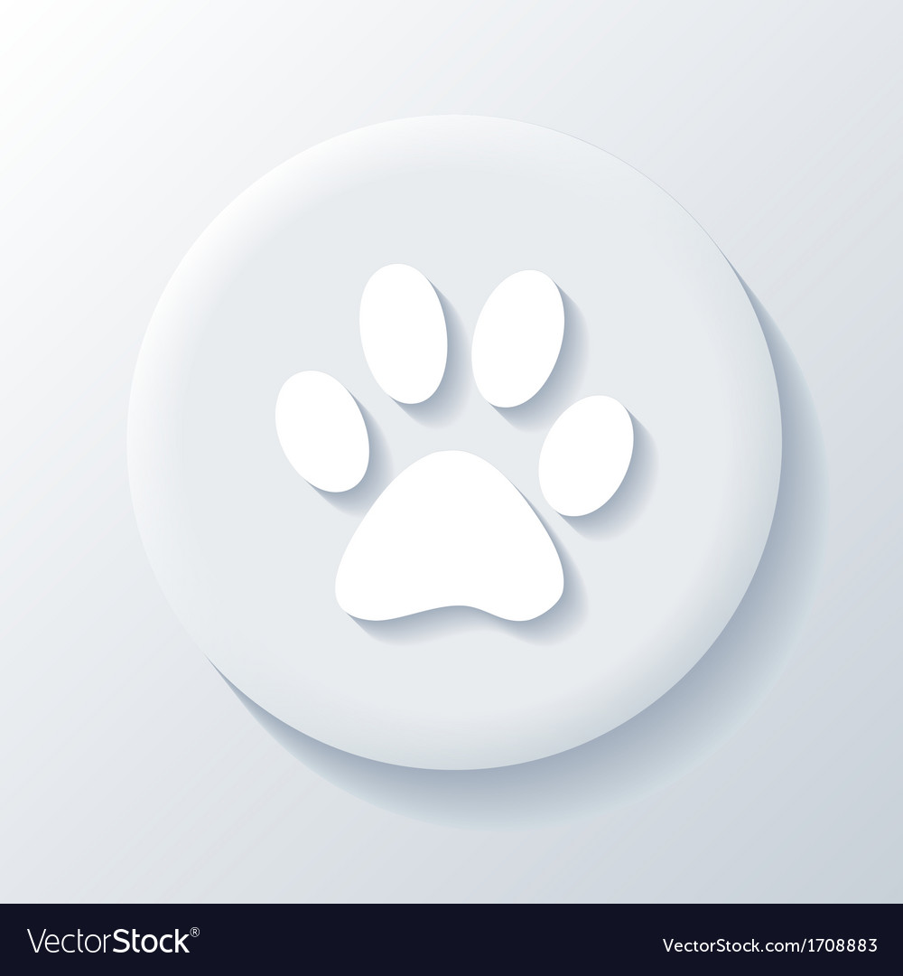 Animal 3d paper icon vector | Price: 1 Credit (USD $1)
