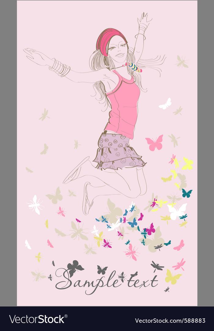Fashion sketch vector | Price: 3 Credit (USD $3)