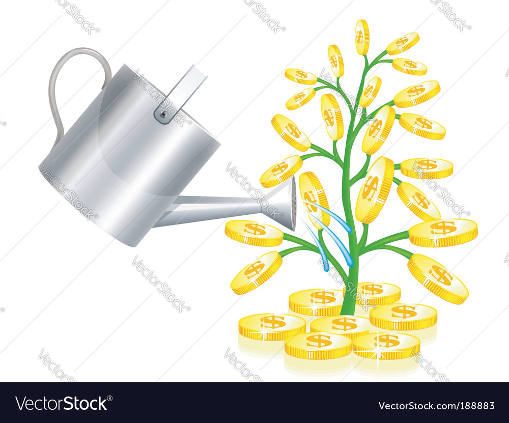 Money tree vector | Price: 1 Credit (USD $1)