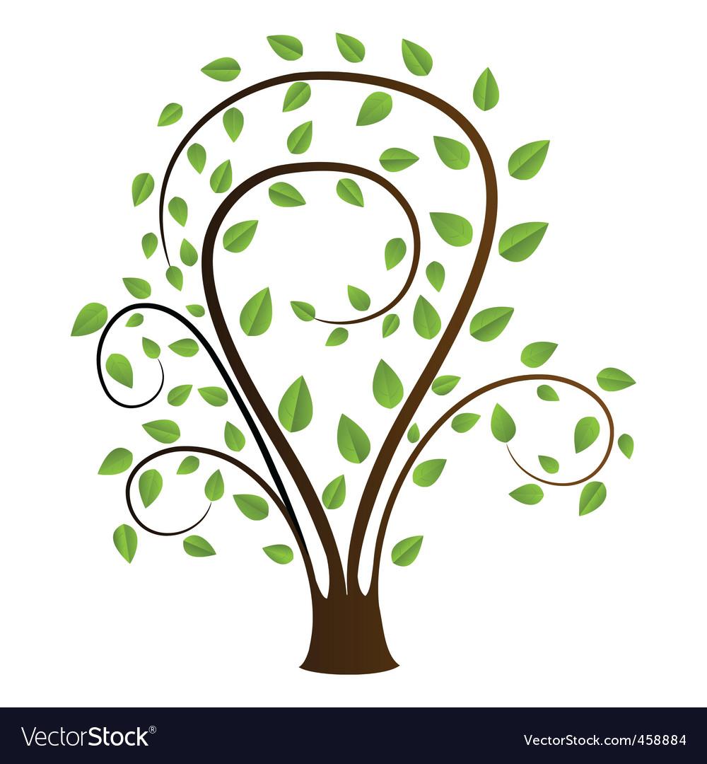 Tree sketch vector | Price: 1 Credit (USD $1)