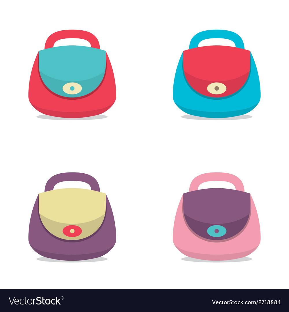 Women bags vector | Price: 1 Credit (USD $1)