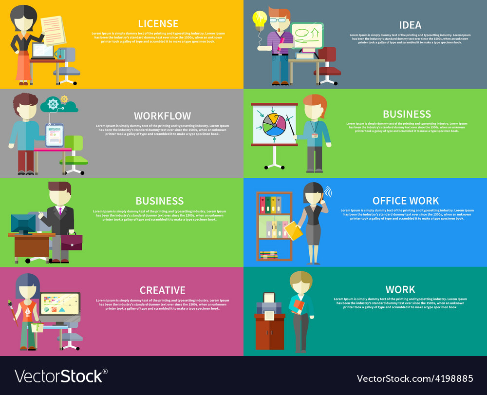 Business peoples professions vector | Price: 1 Credit (USD $1)