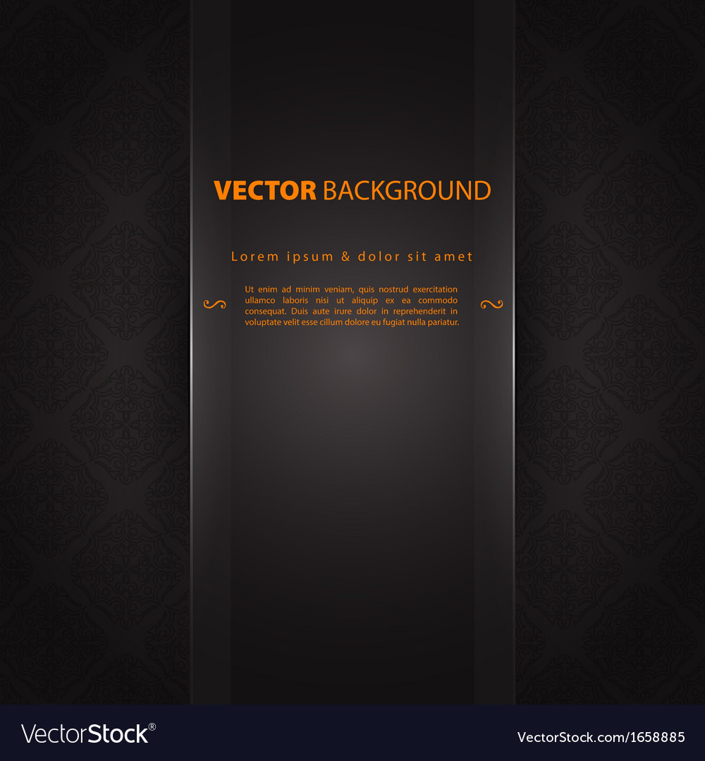 Design template back vector | Price: 1 Credit (USD $1)