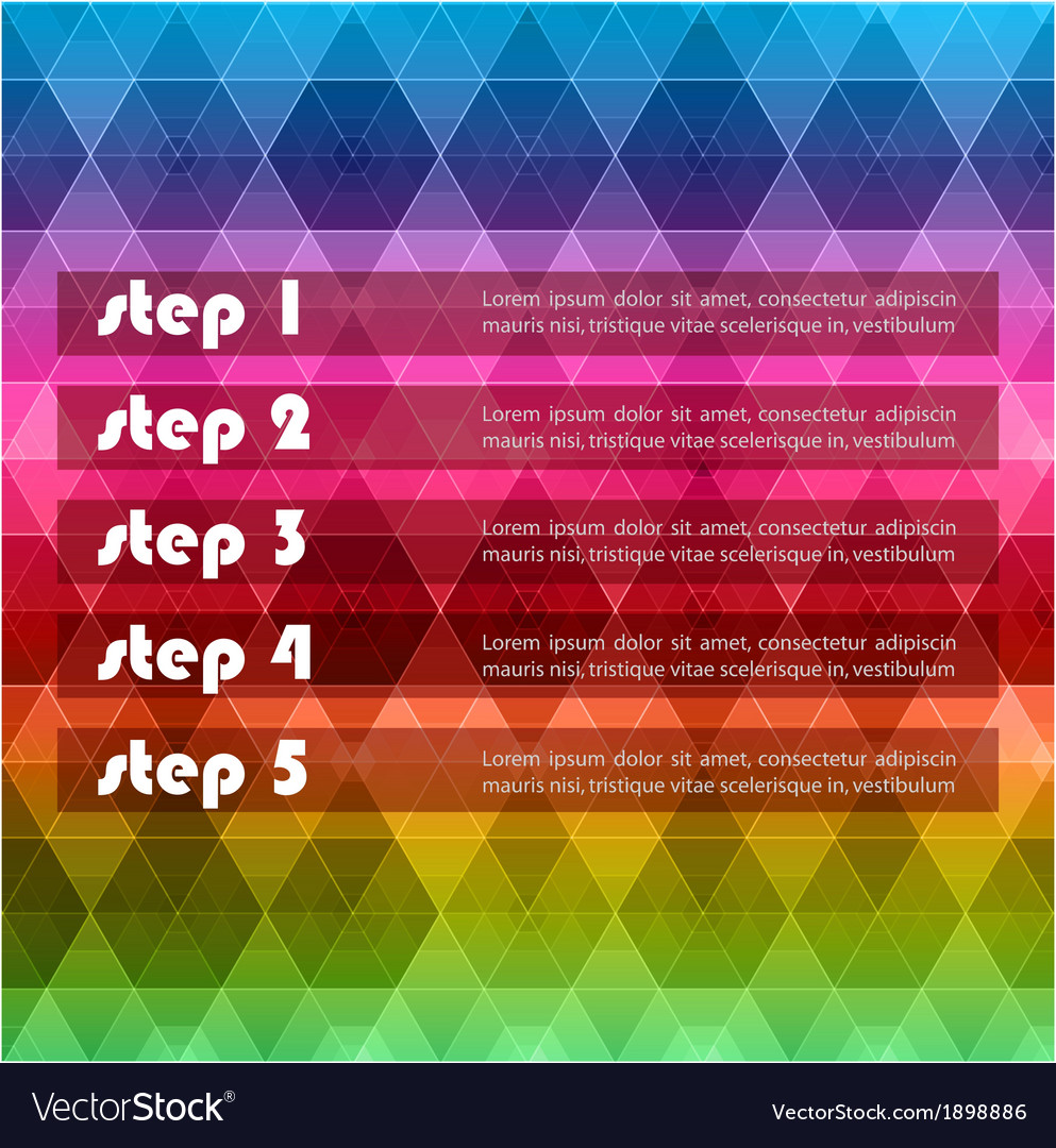 Geometric hipster retro background vector   Price: 1 Credit (USD $1)