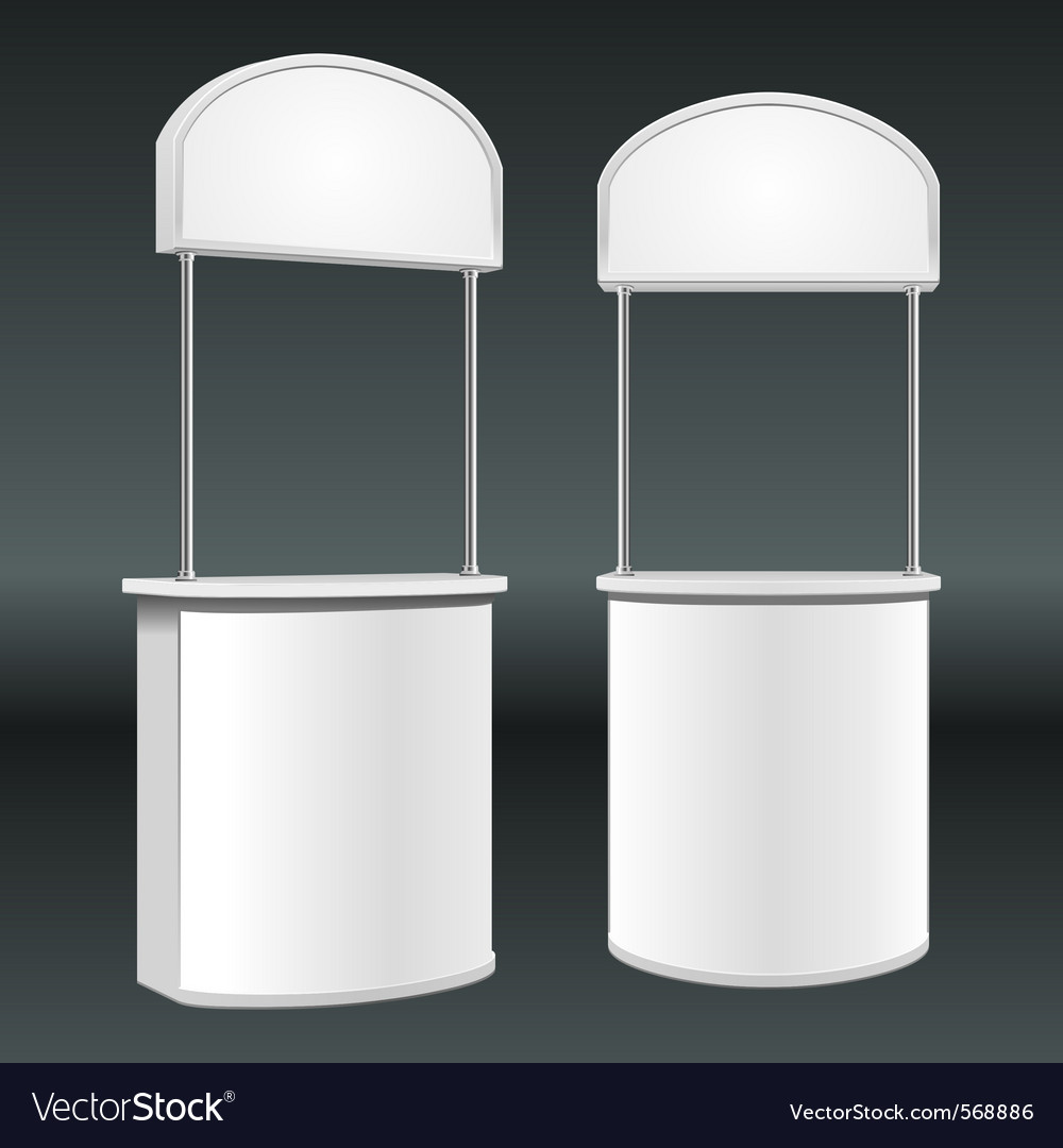 Promotion counter table vector | Price: 1 Credit (USD $1)