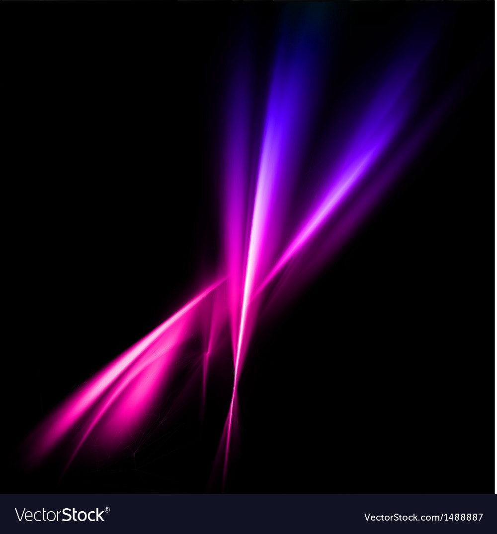 Abstract pink and violet rays lights vector | Price: 1 Credit (USD $1)