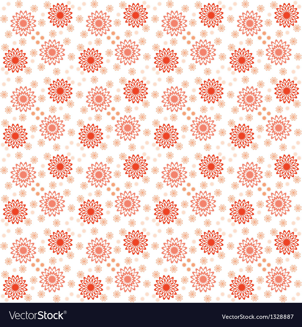Floral pattern for printing cmyk vector | Price: 1 Credit (USD $1)