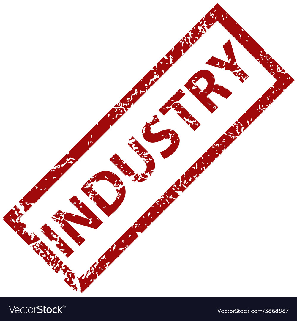 Industry rubber stamp vector | Price: 1 Credit (USD $1)
