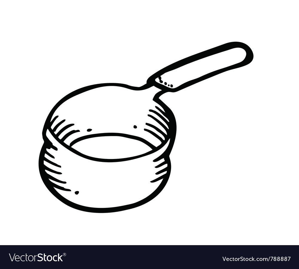 Pan doodle vector | Price: 1 Credit (USD $1)