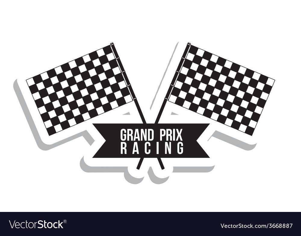 Racing design vector | Price: 1 Credit (USD $1)