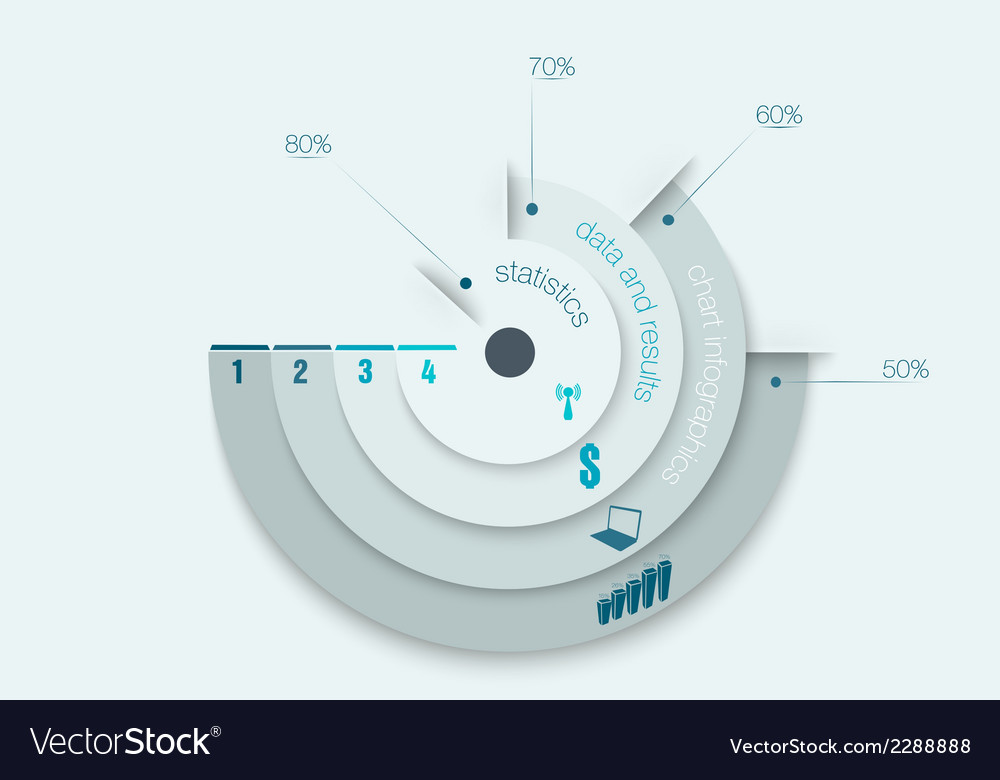 Chart infographics vector | Price: 1 Credit (USD $1)
