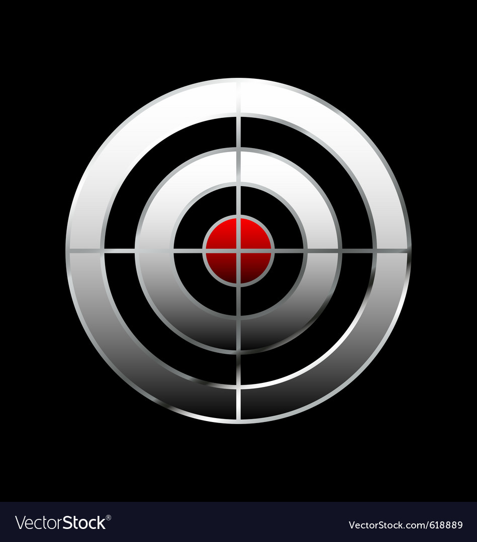 Bullseye vector | Price: 1 Credit (USD $1)