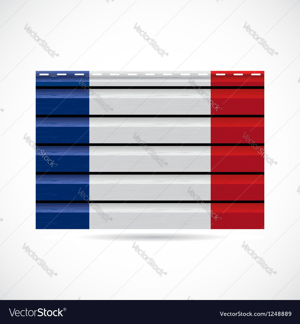 Siding produce company icon france vector | Price: 1 Credit (USD $1)