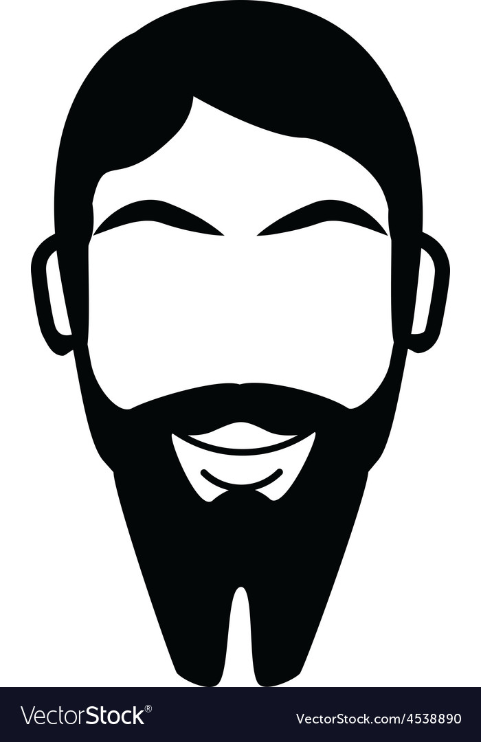 French fork beard vector | Price: 1 Credit (USD $1)