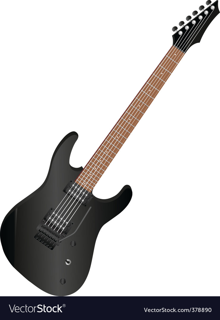 Guitar vector | Price:  Credit (USD $)