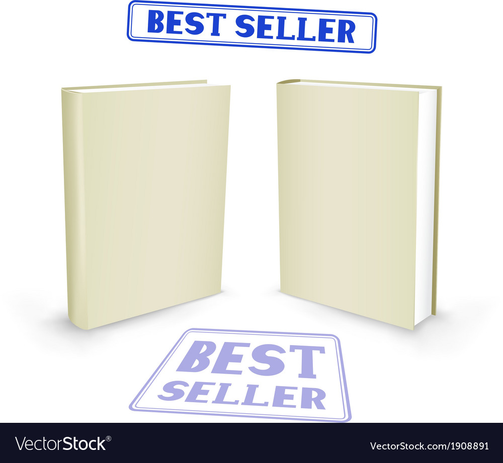 Best seller book vector | Price: 1 Credit (USD $1)