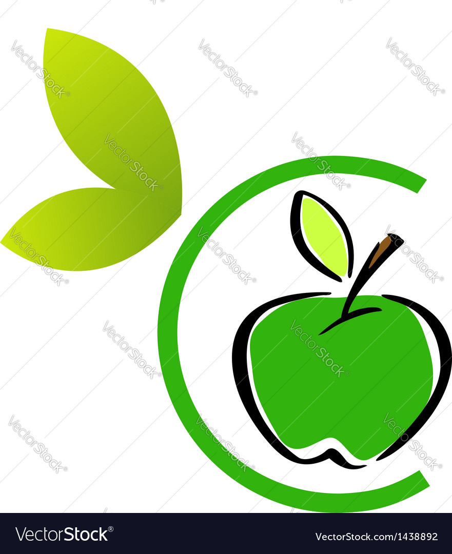 Apple logo vector | Price: 1 Credit (USD $1)