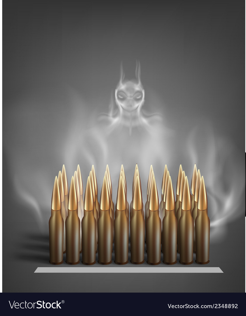 Army ammunition vector | Price: 1 Credit (USD $1)
