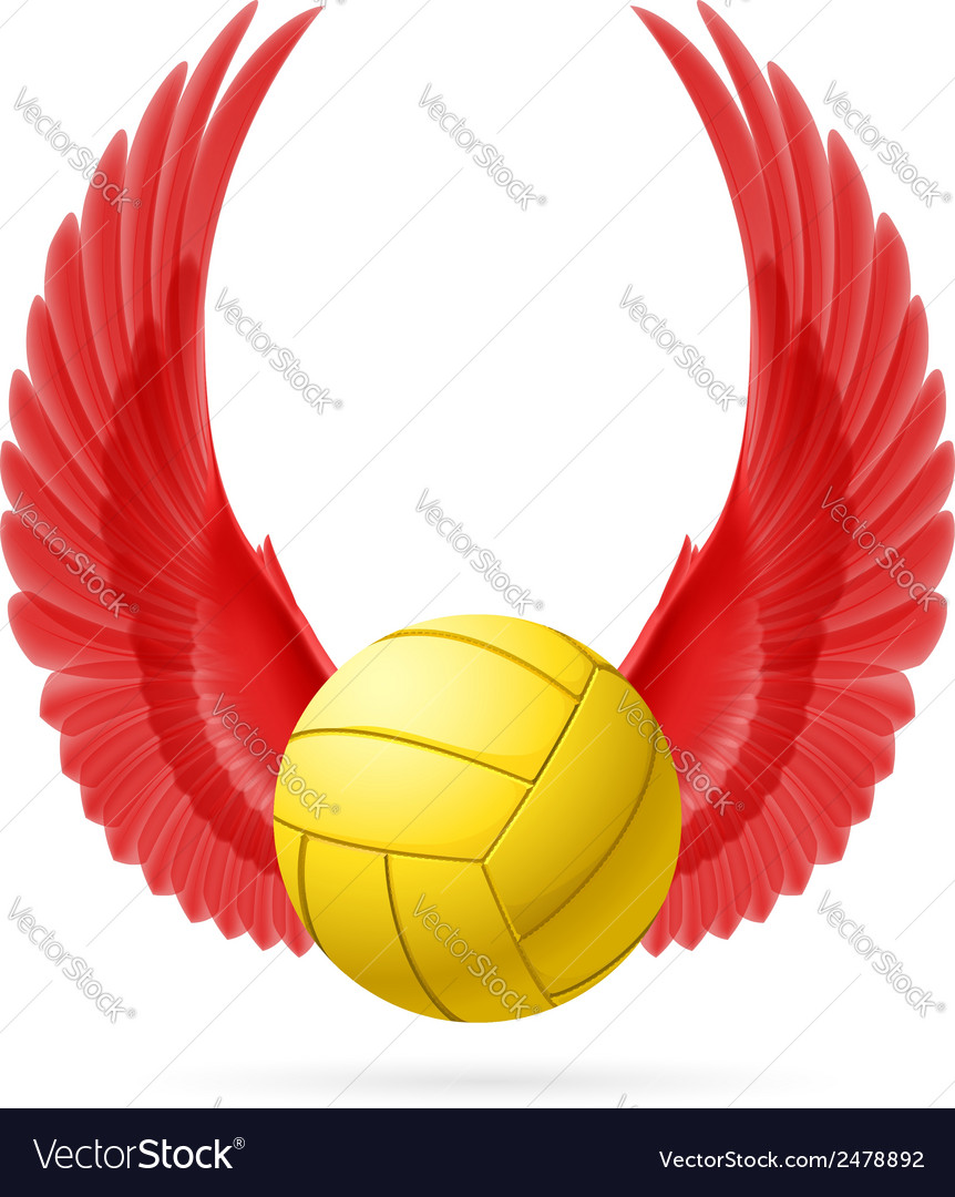 Flying ball vector | Price: 1 Credit (USD $1)