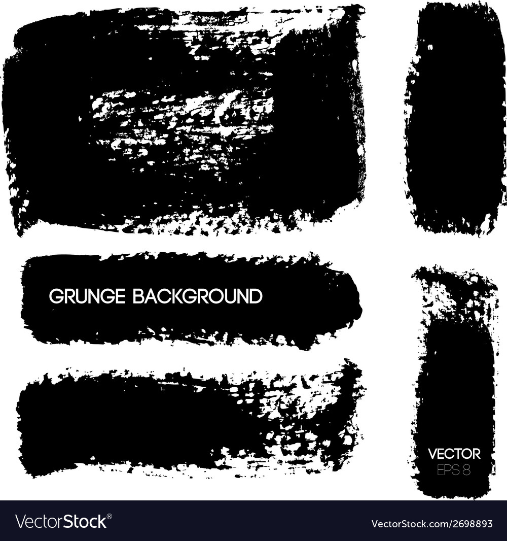Black grunge background vector | Price: 1 Credit (USD $1)
