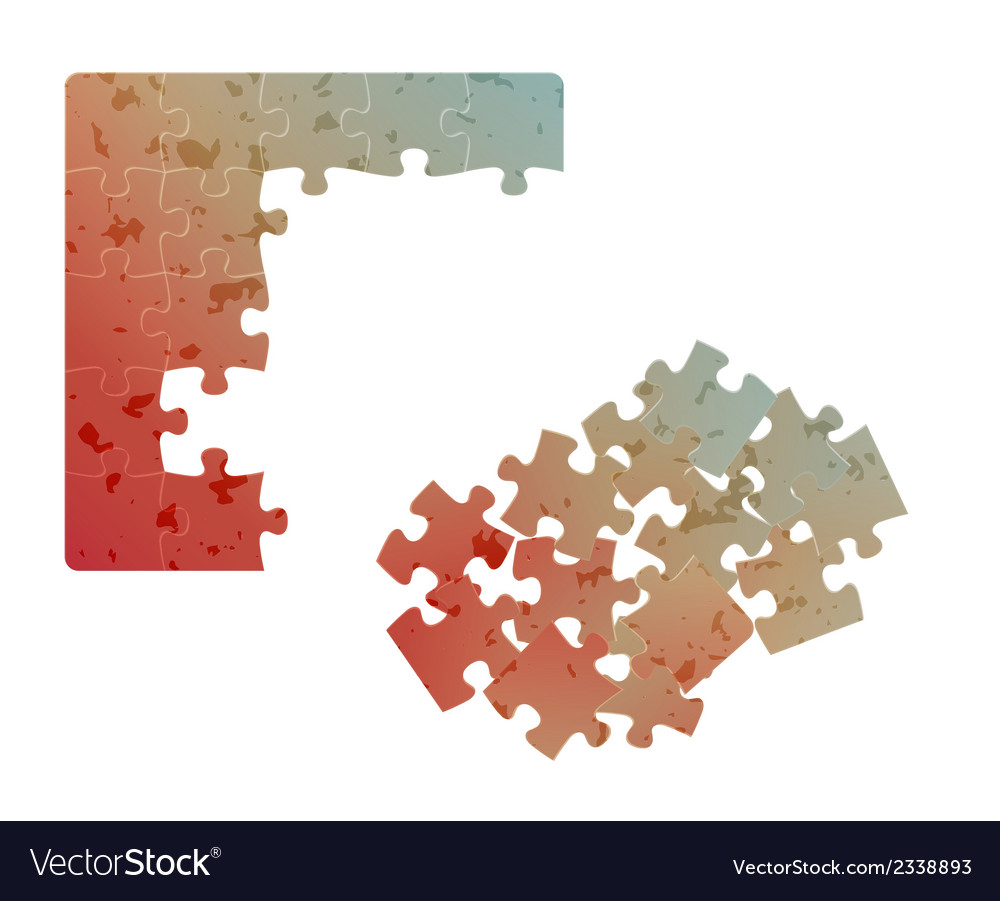 Gradient field of puzzles with spots vector | Price: 1 Credit (USD $1)