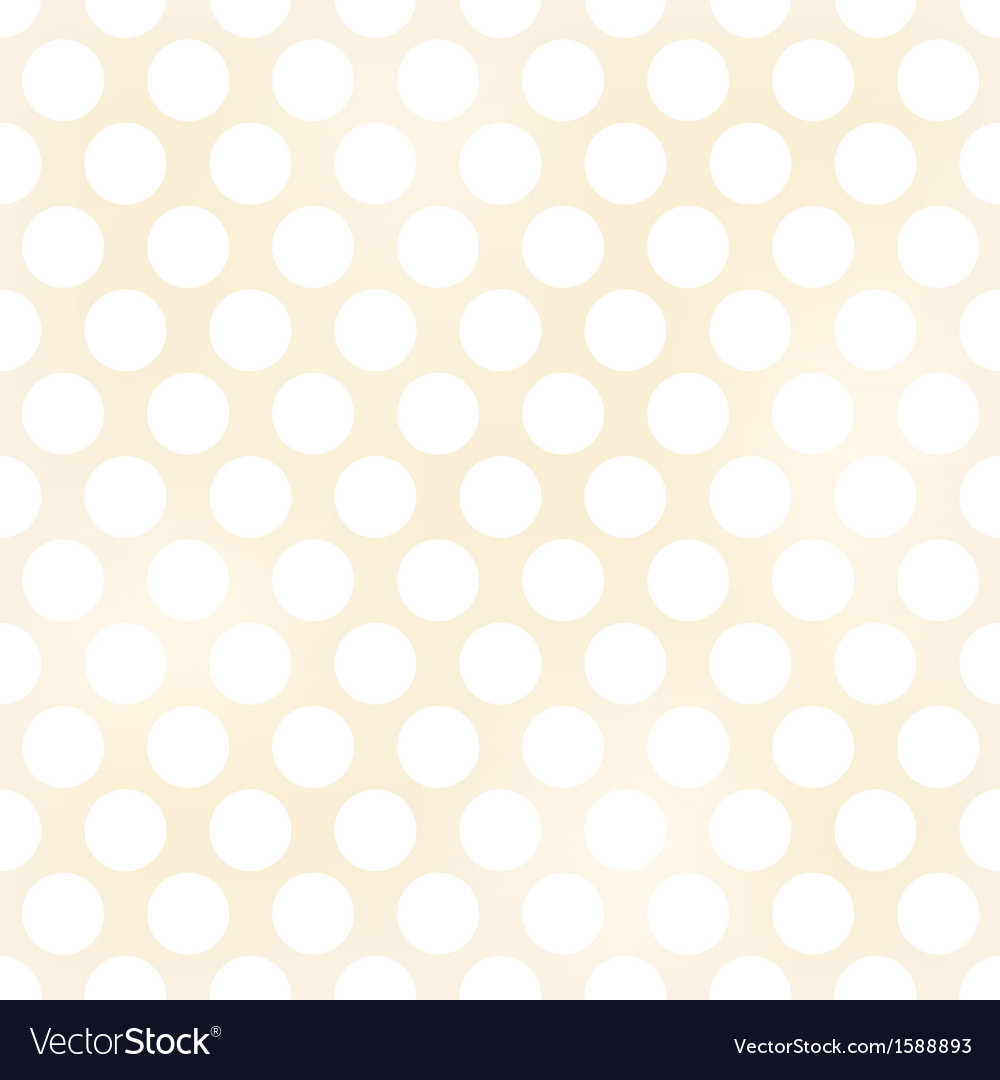 Seamless grunge circles polka dots background text vector | Price: 1 Credit (USD $1)