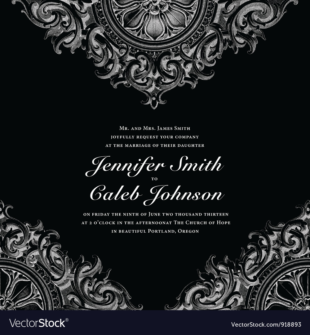 Wedding invite cards vector | Price: 1 Credit (USD $1)